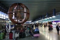 Aeropuerto de Roma Fiumicino Imagen de archivo libre de regalías