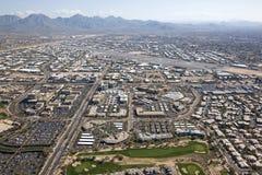 Aeropuerto de Scottsdale Fotos de archivo