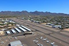 Aeropuerto de Scottsdale Fotos de archivo libres de regalías