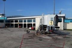 Aeropuerto de Senai situado en Johor, Malasia fotografía de archivo libre de regalías