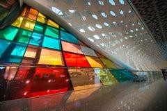 Aeropuerto de Shenzhen Fotos de archivo libres de regalías