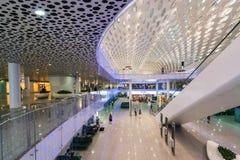 Aeropuerto de Shenzhen Imágenes de archivo libres de regalías