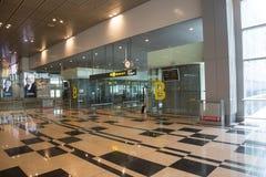 Aeropuerto de Singapur Changi Foto de archivo libre de regalías