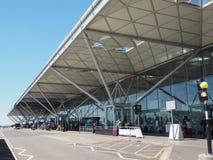Aeropuerto de Standsted en Londres, Reino Unido imagenes de archivo