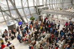 Aeropuerto de Suvanabhumi en Bangkok Fotografía de archivo