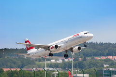 Aeropuerto de Zurich Imágenes de archivo libres de regalías
