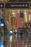 Aeropuerto del DCA Fotos de archivo