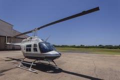 Aeropuerto del helicóptero Imagen de archivo libre de regalías