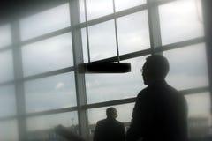 Aeropuerto del recorrido Foto de archivo