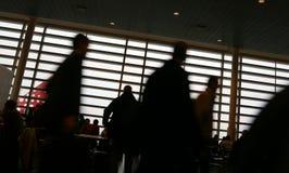 Aeropuerto del recorrido Fotos de archivo libres de regalías
