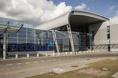 Aeropuerto en Poznán, Polonia Imagen de archivo libre de regalías