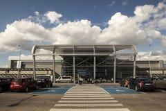 Aeropuerto en Poznán, Polonia Foto de archivo