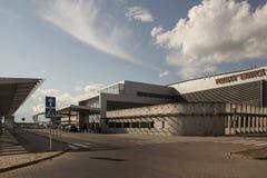 Aeropuerto en Poznán, Polonia Fotos de archivo