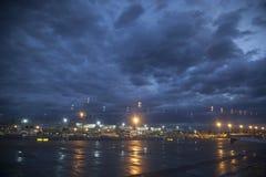 Aeropuerto Francfort por la mañana Fotos de archivo