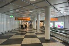 Aeropuerto Franz Josef Strauss de Munich Fotos de archivo libres de regalías