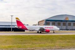 Aeropuerto internacional de Barajas, Madrid Foto de archivo libre de regalías