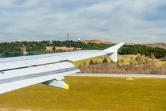 Aeropuerto internacional de Barajas, Madrid Fotos de archivo libres de regalías