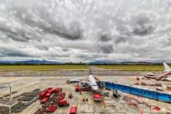 Aeropuerto internacional de Bogotá imágenes de archivo libres de regalías