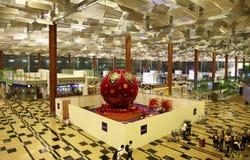 Aeropuerto internacional de Changi fotografía de archivo libre de regalías