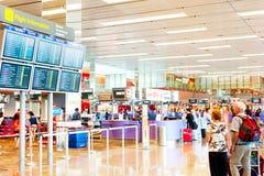 Aeropuerto internacional de Changi Foto de archivo libre de regalías