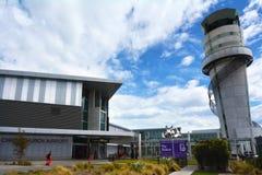 Aeropuerto internacional de Christchurch - Nueva Zelanda imagenes de archivo