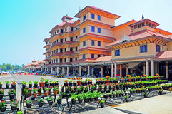Aeropuerto internacional de Cochin, Kerala, la India Fotografía de archivo