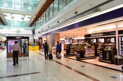 Aeropuerto internacional de Dubai Foto de archivo libre de regalías
