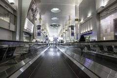 Aeropuerto internacional de Dubai Imagenes de archivo