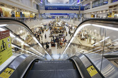 Aeropuerto internacional de Dubai Fotos de archivo