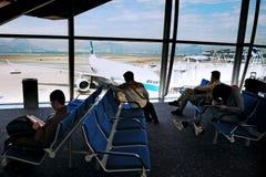 Aeropuerto internacional de Hong Kong Fotografía de archivo libre de regalías