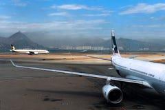 Aeropuerto internacional de Hong Kong Fotos de archivo libres de regalías
