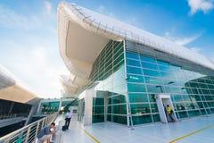 Aeropuerto internacional de KLIA 2, Kuala Lumpur Imágenes de archivo libres de regalías