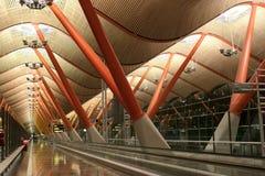 Aeropuerto internacional de Madrid Barajas - ENOJADO Fotos de archivo