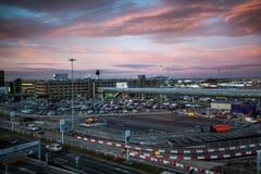 Aeropuerto internacional de Manchester, imagenes de archivo