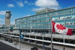 Aeropuerto internacional de Montreal Foto de archivo