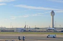 Aeropuerto internacional de Newark Fotos de archivo libres de regalías