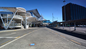 Aeropuerto internacional de Oakland En alguna parte en Nueva Zelandia Fotografía de archivo libre de regalías