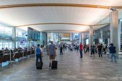 Aeropuerto internacional de Oslo Gardermoen Fotos de archivo libres de regalías