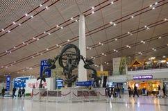 Aeropuerto internacional de Pekín Fotos de archivo libres de regalías