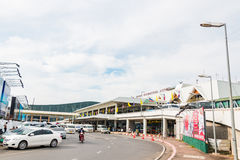 Aeropuerto internacional de Phuket el 16 de diciembre de 2015 Imagen de archivo libre de regalías