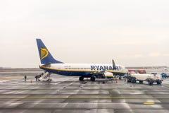 Aeropuerto internacional de Salónica Imágenes de archivo libres de regalías