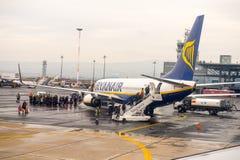 Aeropuerto internacional de Salónica Fotografía de archivo libre de regalías