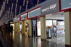 Aeropuerto internacional de Shanghai Pudong, China Imágenes de archivo libres de regalías