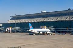 Aeropuerto internacional de Shenyang Taoxian fotos de archivo