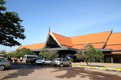 Aeropuerto internacional de Siem Reap Imagen de archivo libre de regalías