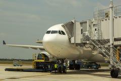 Aeropuerto internacional de Singapur Changi Imagen de archivo