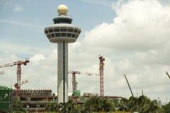 Aeropuerto internacional de Singapur Changi Fotografía de archivo
