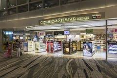 Aeropuerto internacional de Singapur Changi Foto de archivo