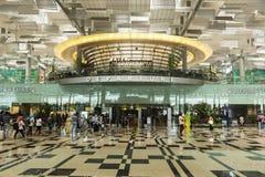 Aeropuerto internacional de Singapur Changi Imagen de archivo libre de regalías