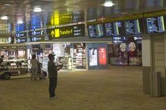 Aeropuerto internacional de Singapur Changi Fotos de archivo